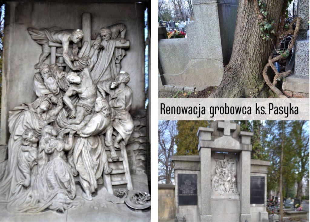 Grobowiec ks. Stanisława Pasyka